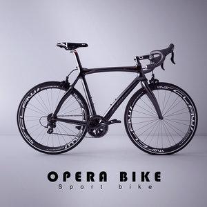 sport opera bike 3d max