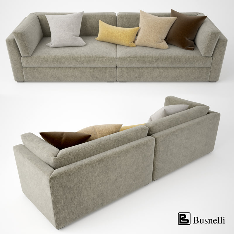 3d busnelli oh-mar sofa model
