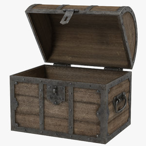 old wooden chest max