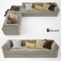 busnelli oh-mar sofa 3d max