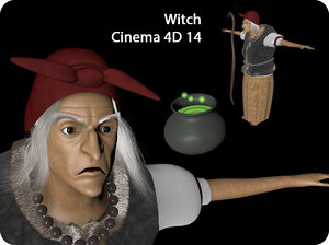 3d witch old