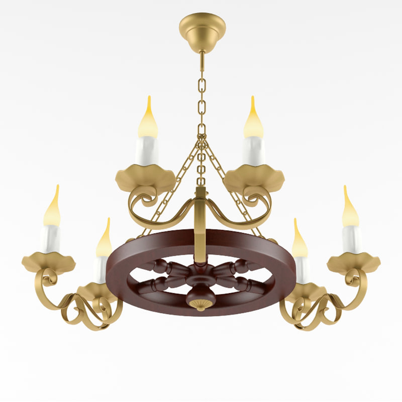 country chandelier max
