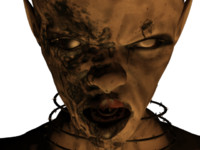 infected undead 3d model