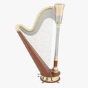 harp 3D models