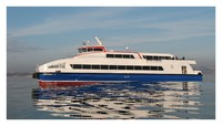 3d 3ds izmir city ferry boat