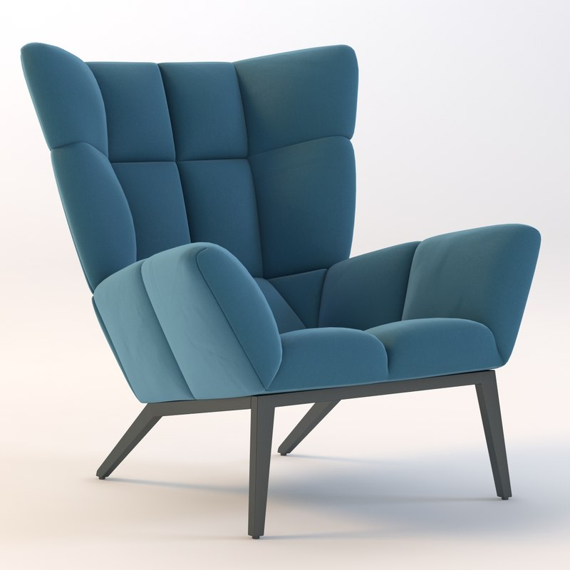 3ds Max Tuulla Chair