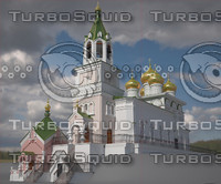 church st john baptist 3d max