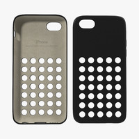 3d iphone 5c case black