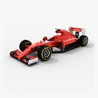 generic formula 1 2015 3d max