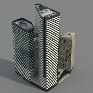 moscow offices 3d model