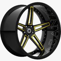 3dsmax cx-506 luxury wheels asanti