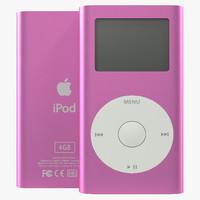 max ipod mini pink