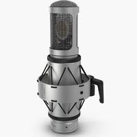 3d microphone mic brauner model