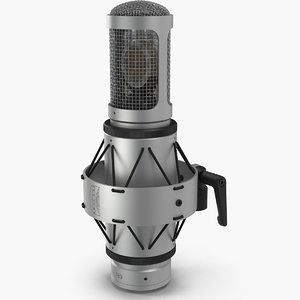 3d microphone mic brauner model