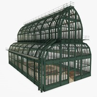cathedrale glasshouse c4d