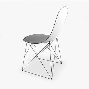 modern chair 3ds