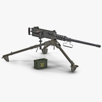 Machine Gun Browning M2 Collection