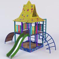 playground play ground 3d max