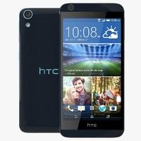 htc desire blue 3d model