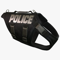 Police Dog Body Armor (English)