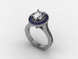 rhino diamond oval