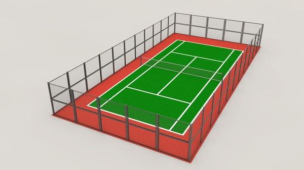 3ds tennis court