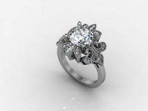 diamond 2 3d model