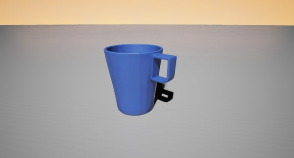 free ikea coffee cup 3d model