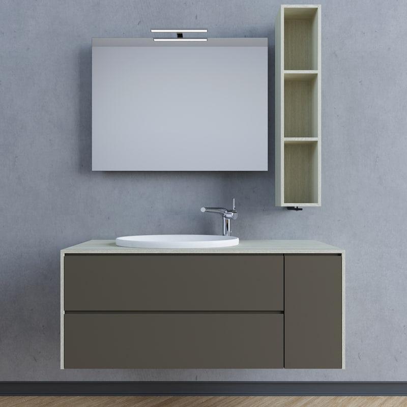 3d bathroom set comp model