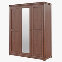 obj furniture classic wooden cabinet