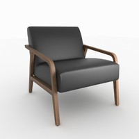 3ds woody armchair