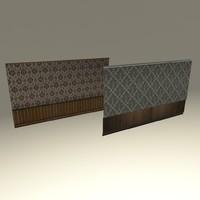 walls 3d model