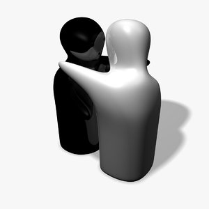 3d ornamental ceramic salt model