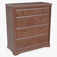 Furniture Classic Wooden Commode