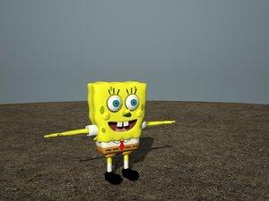 3ds spongebob