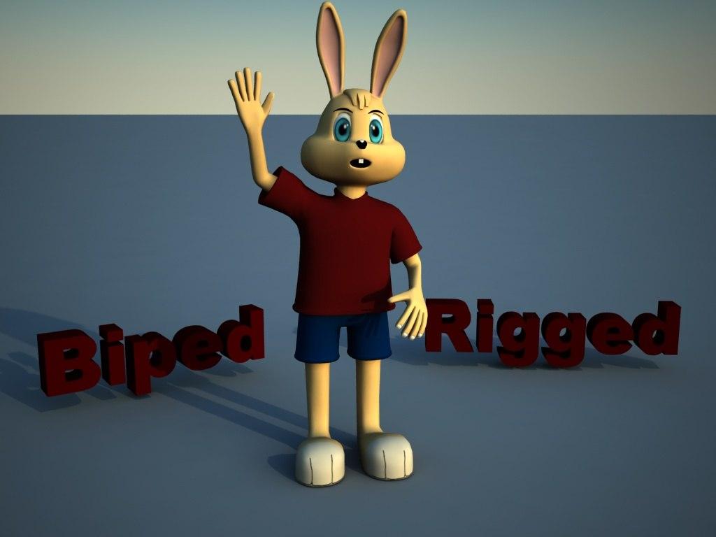 3d model bunny