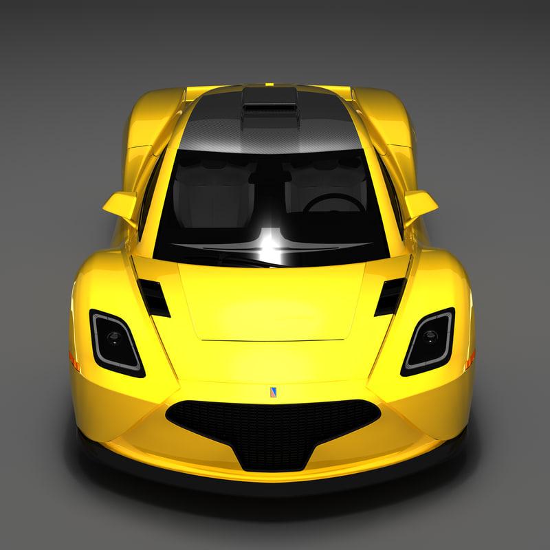 3d chicane design cars