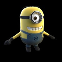 3d minion despicable model