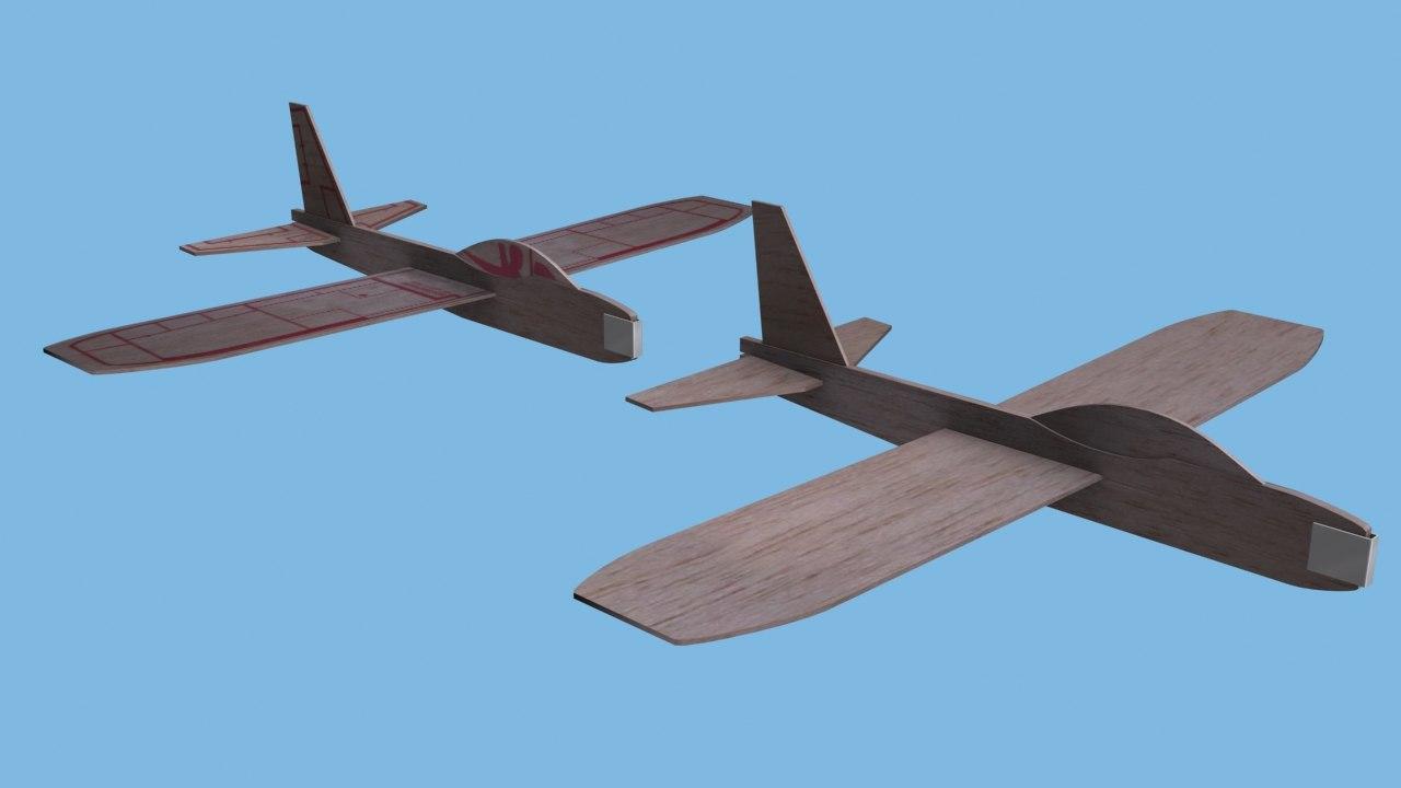 3d model balsa wood