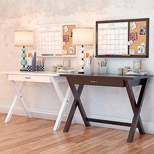 pbteen desk decor set max