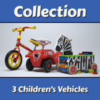 Children's Vehicles Collection
