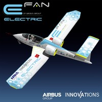 airbus electric 3d max