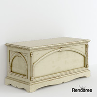 Victorian Chest Battered Cupboard 016