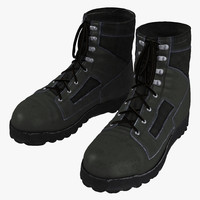 3ds max tactical boots