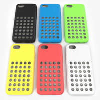 iPhone 5c Case 3D Models Set