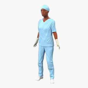 max female surgeon african american