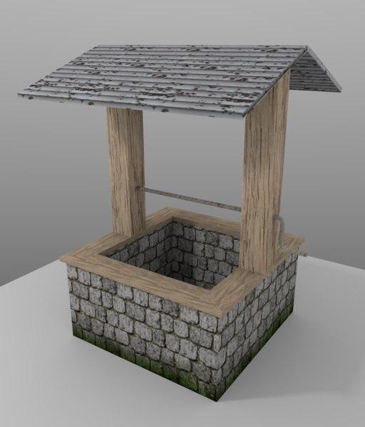 free water 3d model