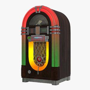 3d jukebox juke box