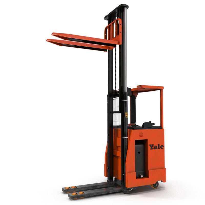rider stacker red rigged 3d max