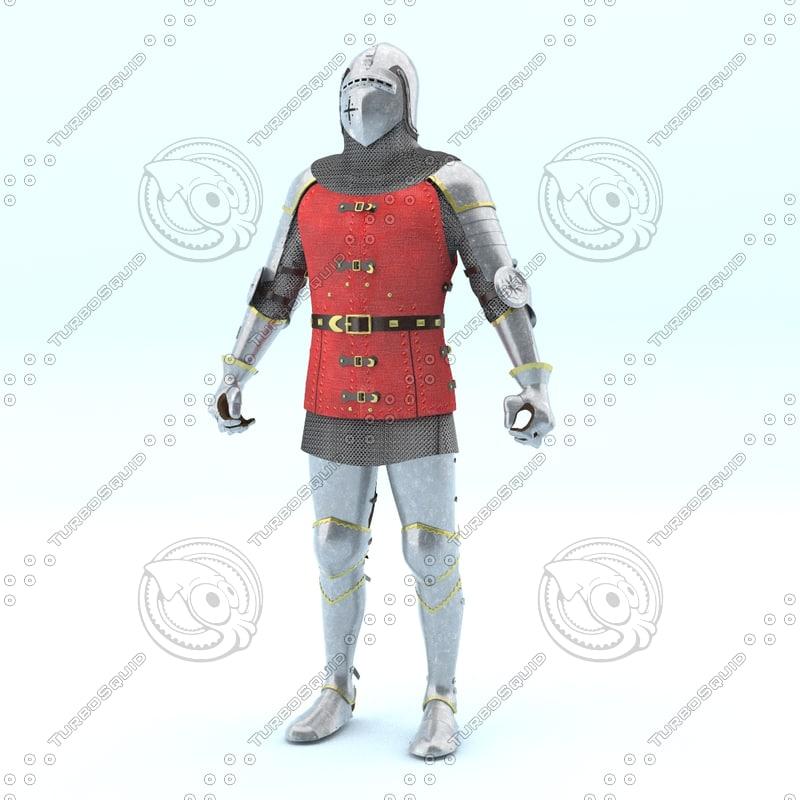 knight 3d max